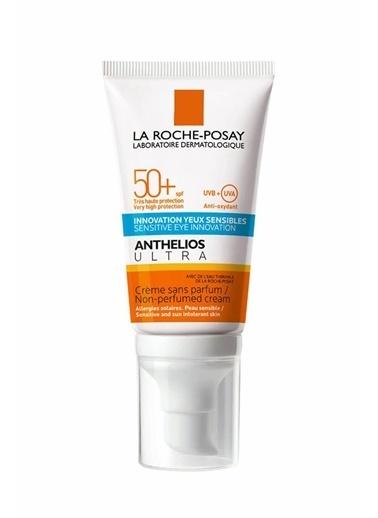 La Roche Posay LA ROCHE POSAY Anthelios Ultra SPF50+ Cream 50 ml - Hassas Ciltlere Özel Güneş Koruyucu Krem Renksiz